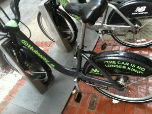 Photo courtesy of The Hubway.