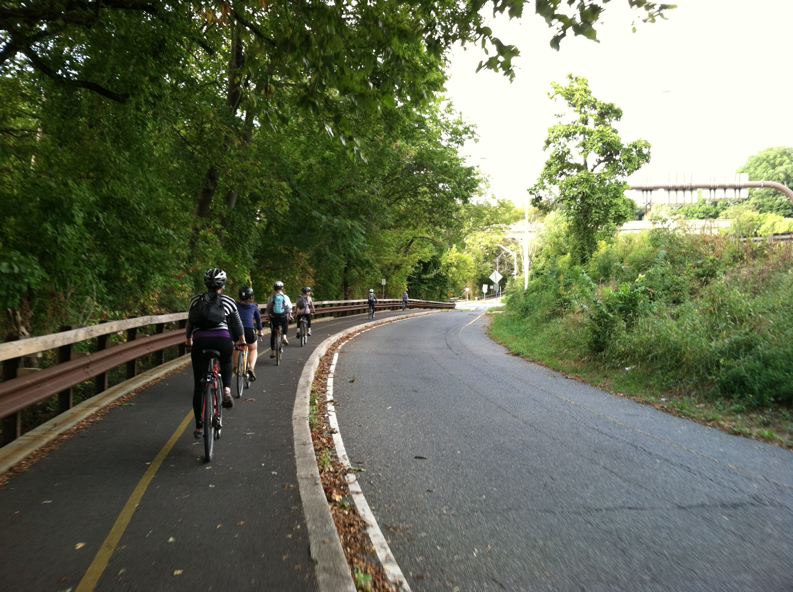 Philadelphia has been installing bike lanes for over a decade. They're a big draw for its young residents.