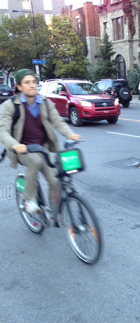 As bike sharing gets more popular, public health officials are concerned people are on bikes without helmets.