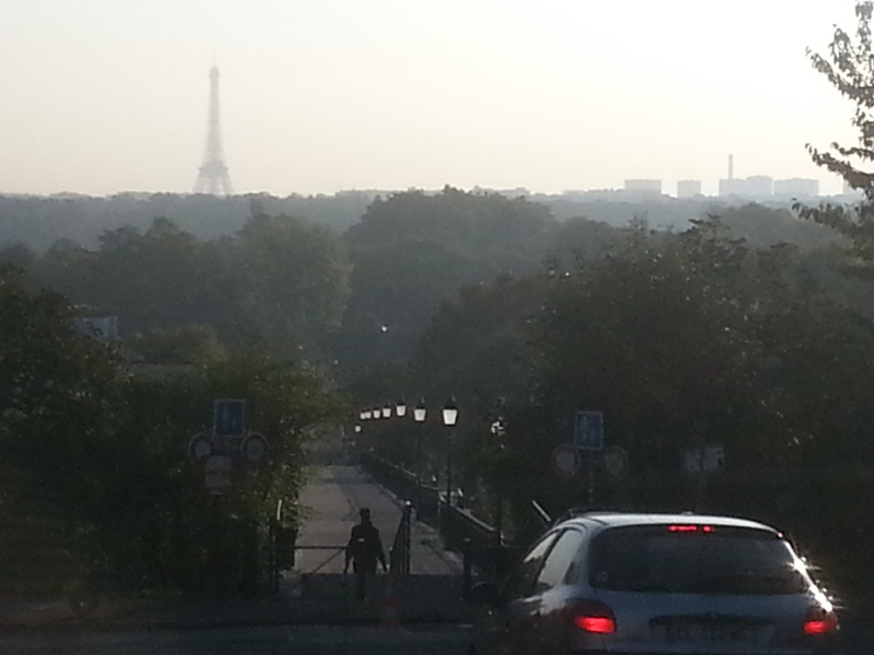 Paris traffic.