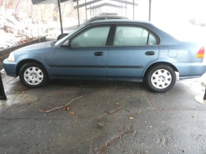 Anne's 1998 Honda Civic. Will it stay or go?