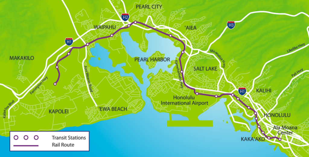 The big news in Honolulu transit: where light rail will run.